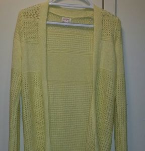 Yellow, Long Open Cardigan from Cat & Jack™.